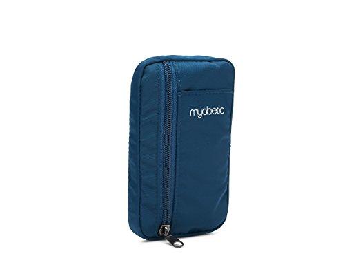 Myabetic Eli Diabetes Pouch - Blue Nylon