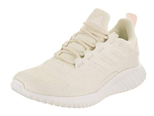 adidas Boys Alphabounce Cr Running Casual Shoes, Off White, Size Big Kid 6.0