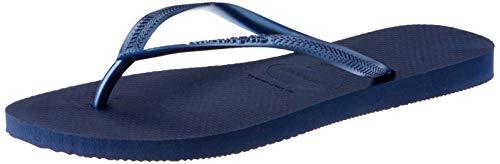 Havaianas Damen Slim' Zehentrenner, Blau (Navy Blue 0555), 35/36 EU