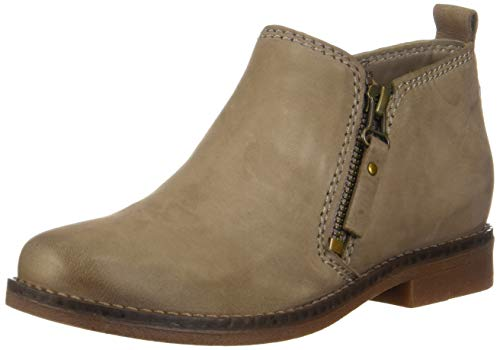 Hush Puppies Women#039s Mazin Cayto Ankle Boot Taupe 7 M US