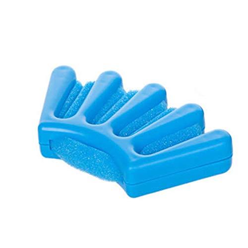 Éponge Creative plastique Hair Braiding Machine facile appliquer Durable bricolage cheveux tresser outil manuel Braid Hairstyling outil bleu 1pc