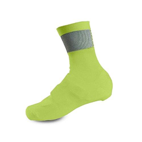 Giro Knit Shoe Cover Unisex Adult Cycling Shoe Covers - Highlight Yellow/Black (2021) - Medium