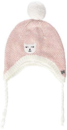 s.Oliver Baby-Mädchen 59.809.92.4935 Mütze, Pink (Light Pink Knit 42x8), 43/45 (Herstellergröße: 43/48)