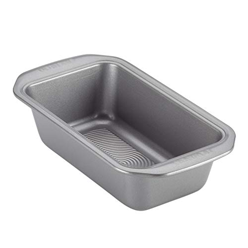 Circulon Bakeware Meatloaf/Nonstick Baking Loaf Pan, 9 Inch x 5 Inch, Gray