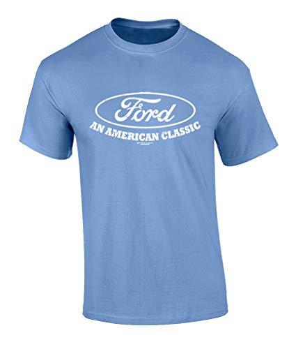 Ford Logo T-Shirt American Classic Car Shirt Motor Company Car Enthusiast Tee...