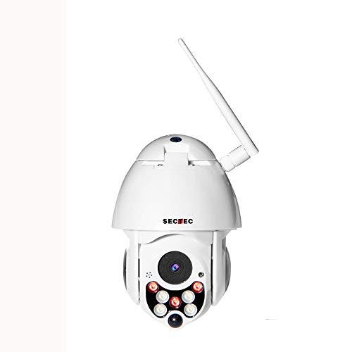 XYY Cámaras WiFi Cámara De Seguridad Exterior Inalámbrico Joustory para La Seguridad Casera 1080P con Detección De Movimiento PTZ Visión Nocturna De 2 Vías De Audio Compatible