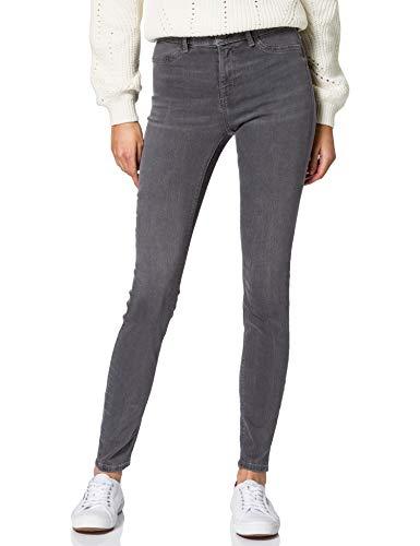 edc by ESPRIT Damen Jeggings Skinny Fit Jeans, 922/GREY MEDIUM WASH, 33/32