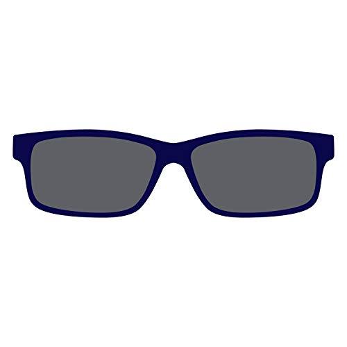 DIDINSKY Clip Solar Polarizado Apto para las Gafas del Modelo Thyssen. Cristales Solares Polarizados Anti Reflejantes. Indigo - SUNLAYER THYSSEN
