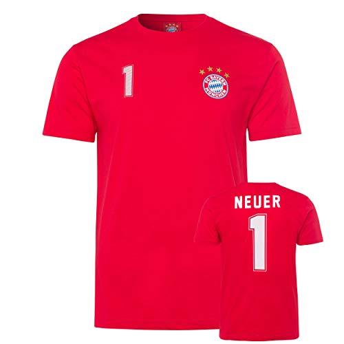 FC Bayern München T-Shirt Manuel Neuer Tshirt, T-Shirt (3XL)
