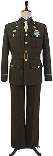 MingoTor Superheld Suit Uniform Cosplay Kostüm Herren L