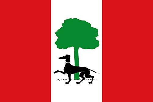 magFlags Bandera Large Proporciones 2 3. Terciada en bajo | Bandera Paisaje | 1.35m² | 90x150cm