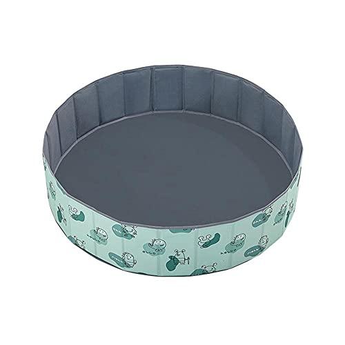 Portátil para niños Ocean Ball Pool Cesta de almacenamiento de juguetes redonda...