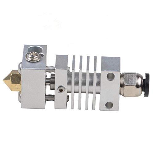 1.75 mm cr-10 stampante 3D con lega di titanio Hotend di estrusione per 0.4 mm ugello