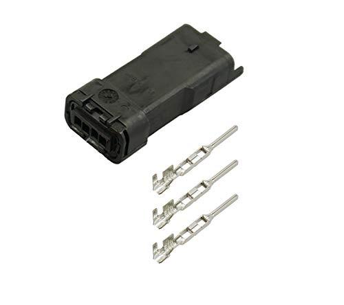 4-pol. Ducati DDA Stecker (DT3V) für Umbau Batterieladegerät