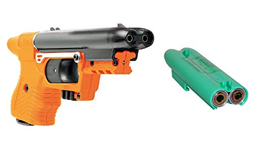 Piexon Pfeffersprayapistole Jet Jpx orange inkl. Trainingsmagazin Tierabwehrgerät