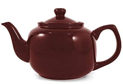 Burgundy Classic 6 Cup Ceramic Teapot