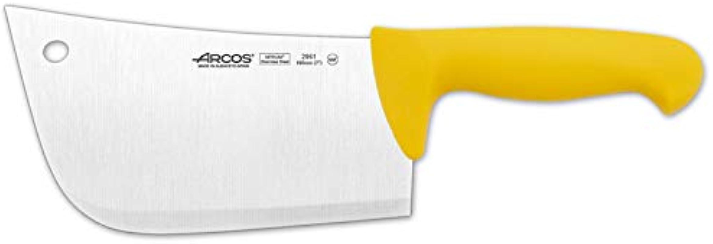Arcos 8 Inch 190 Mm 530 Gm 2900 Range Cleaver Yellow
