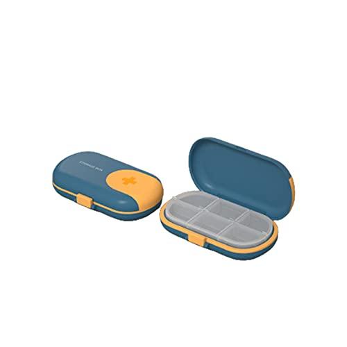 Bartholomew Caja de almacenamiento portátil de gran capacidad para pastillas, para uso doméstico