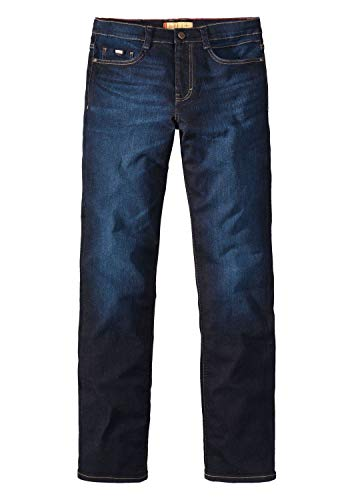 Paddocks Ranger Megaflex Stretch Jeans Blue Dark Moustache Used 80081 2936 0844, Weite/Länge:40W / 28L