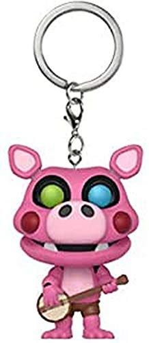 Funko Pop Keychain: Five Nights at Freddy's Pizza Simulator - Pigpatch Collectible Figure, Multicolor