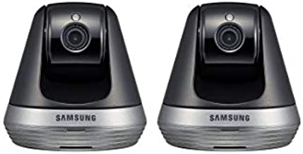 Samsung SNH-V6410PN SmartCam Pan/Tilt Full HD 1080p Wi-Fi IP Camera Bundle Double Pack (Renewed)