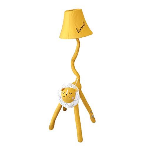 Li Cartoon Stehleuchte Löwe Stehende Tischlampe Junge Mädchen Kinderzimmer Dekoration Stofflampe Einfache Wohnzimmer Schlafzimmer Nachttischlampe