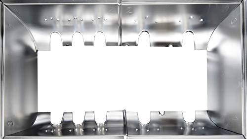 CAMPINGAZ InstaClean System - Juego de Piezas de Repuesto para barbacoas de Gas Master 4 Series Classic y Woody, Acero Inoxidable
