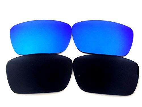 Galaxylense lentes de repuesto para Oakley Fuel Cell negro y