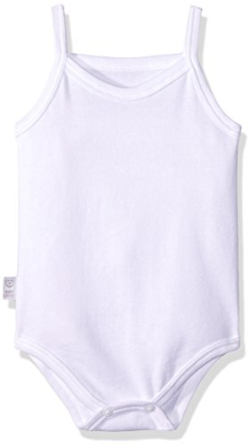 Baby Creysi Body para Bebé, color Blanco, 18 Meses