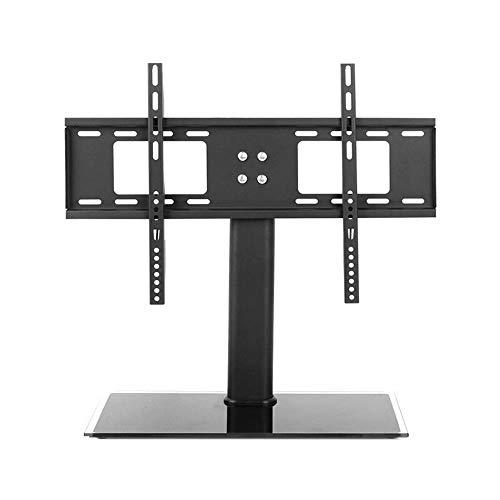 CUIJU Soporte para TV de Mesa es Adecuado para la mayoría de Pantallas LCD de 55 Pulgadas, Soporte de TV de Piso Universal Plano LED, Adecuado Negro