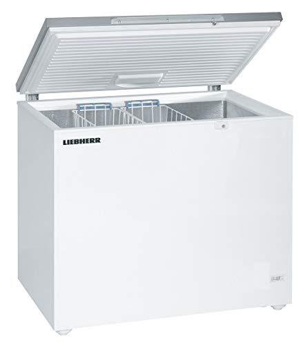 LIEBHERR GTL3006 Gefriertruhe 297 Liter Stahl weiß HxB: 91x101cm