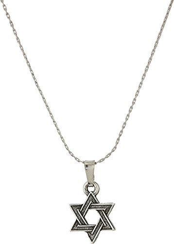 Alex and Ani Star of David IV 32' Expandable Necklace Rafaelian Silver One Size