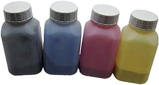 1 Juego de 4 Paquetes de 40 g de Recambio para Botellas Color de tóner láser para Impresora láser Ricoh Aficio MP 5500 6500 7500 6000 7000 8000 (1 Negro, 1 Cian, 1 Magenta y 1 Amarillo)