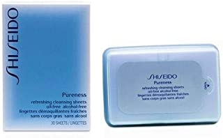 Shiseido Pureness Refreshing Cleansing Sheets Oil-Free 30 Sheets