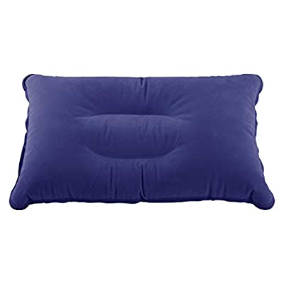 ZHONG AN Camping Pillow - Ultralight Inflatable Travel Pillows - Compressible, Lightweight, Ergonomic Neck & Lumbar Support - Perfect for Backpacking or Airplane Travel