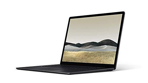"""Microsoft Surface Laptop 3 Ordinateur Portable (Windows 10, Écran Tactile 15"""", AMD Ryzen 5, 8Go RAM, 256Go SSD, Noir, Finition Métal, Clavier AZERTY Français)"""