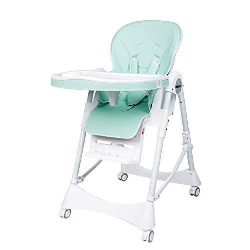 Eetkamerstoel voor baby's, gevoerde riem met opvouwbare riem, multifunctioneel, 6-in-1 en stof, gemakkelijk te reinigen, stoel voor kleuterschool met zitverhoging voor baby's