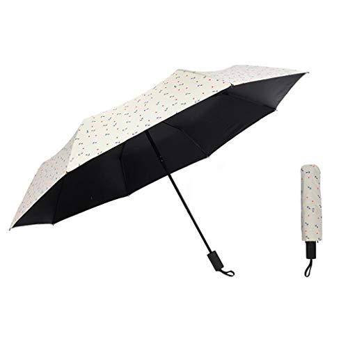 DGSFES Licht draagbaar met paraplu opvouwbare paraplu automatische schakelaar paraplu winddicht 99% anti-UV zonnescherm paraplu reizen paraplu golf paraplu