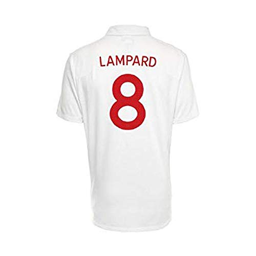 Umbro LAMPARD #8 England Home Jersey World Cup 2010 (50/52-2XL)