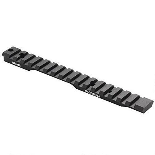 Weaver 1-Piece Extended Multi-Slot Tactical Picatinny-Style...