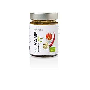 Rotes Bio-Hanfpesto 150 g - hanf & natur