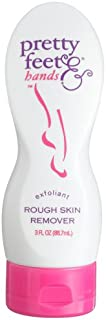 Pretty Feet & Hands Rough Skin Remover-Exfoliant, 3-Ounce Bottles (Pack of 3)