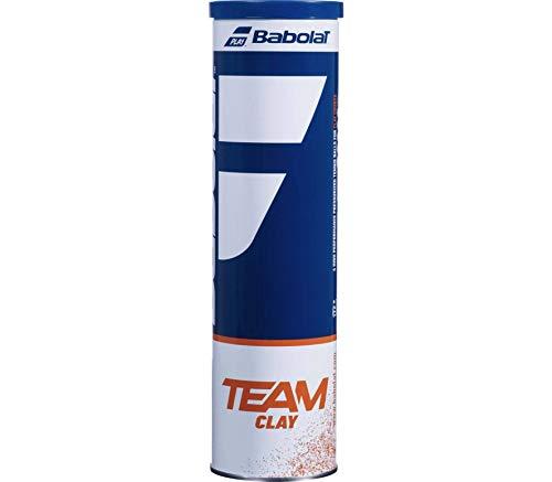 Babolat Team Clay X 4 Palline, Adulti Unisex, Giaune (Nero), Taglia Unica