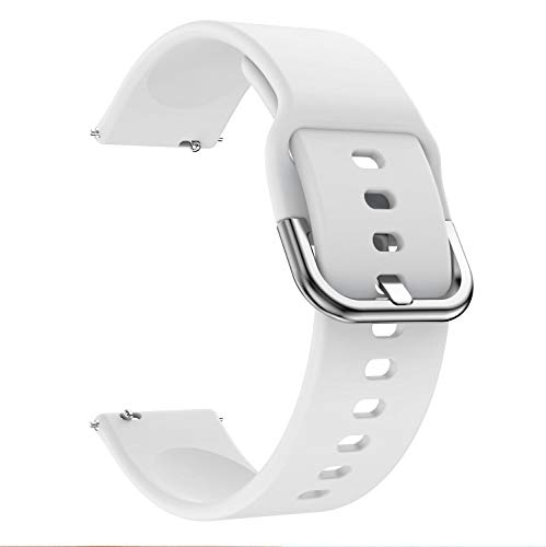 FAAGFC Correa de reloj de 22 mm para Huawei Watch GT 2e / GT 2 46 mm para Amazfit GTR 47 mm Silicona 22 mm para Samsung Galaxy Gear S3 Classic/Frontier Correa de reloj de repuesto