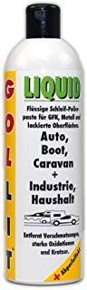 GOLLIT Liquid 250 ml Kratzerentferner, Auto, Boot und Caravan, Schwarze Regenstreifen