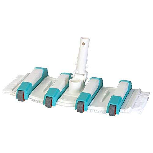 Gre 40018N - Limpiafondos manual de Piscina, Rotativo y con 8 Ruedas