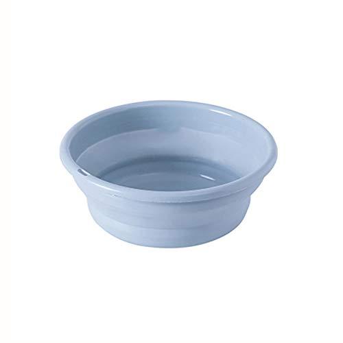 Lavabo Cuenca plegable - 1 UNID al aire libre plegable lavabo plegable contenedor portátil cuenca plegable silicona lavabo lavabo accesorios conveniente for su almacenamiento y organización Portátil