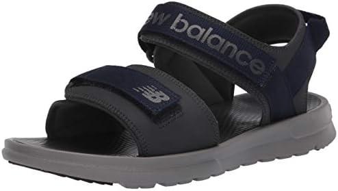 New Balance Men s 250 V1 Adjustable Sandal Grey Black 13 X Wide product image