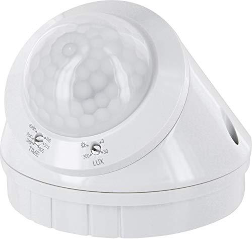 Aufputz Infrarot Bewegungsmelder 360° IP65 230V - mit Dämmerungssensor - für Aussen und Feuchtraum - LED geeignet ab 1W