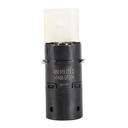Hlyjoon PDC - Sensor de aparcamiento por ultrasonidos, 4 B0919275D de ayuda de radares de retroceso invertido trasero, protección de objeto, sensor de vehículos Assist para A6 S6 Galaxy 1997-2008
